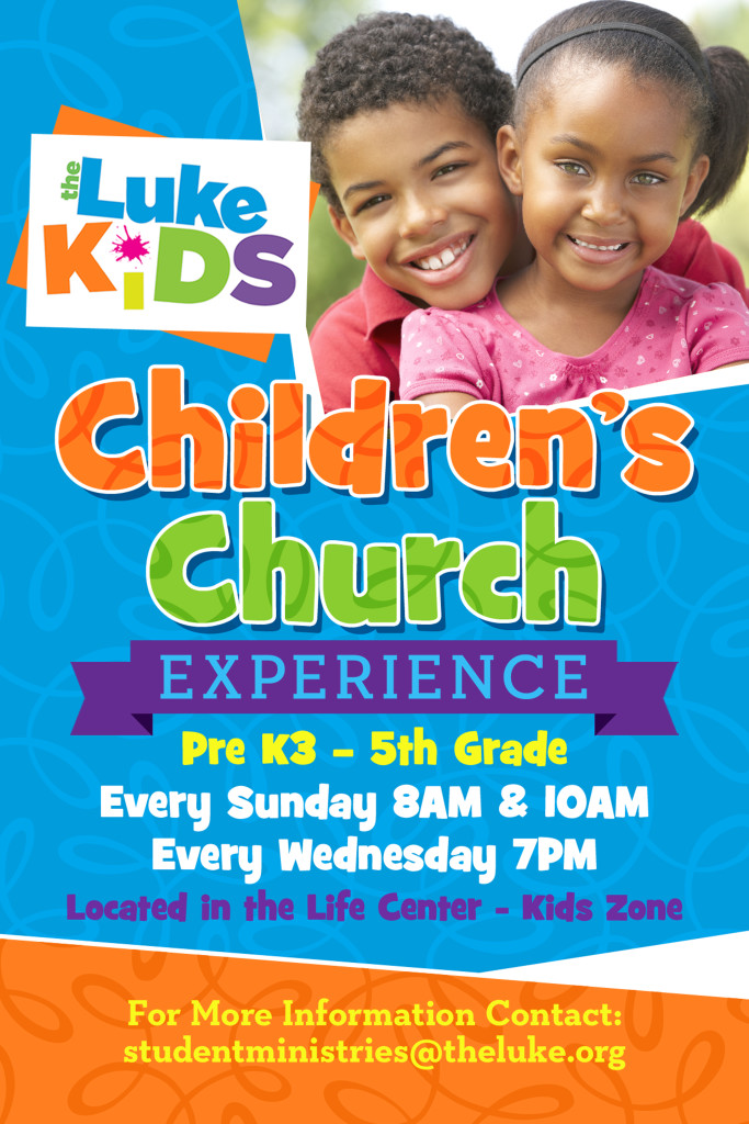 Luke Kids CC Poster