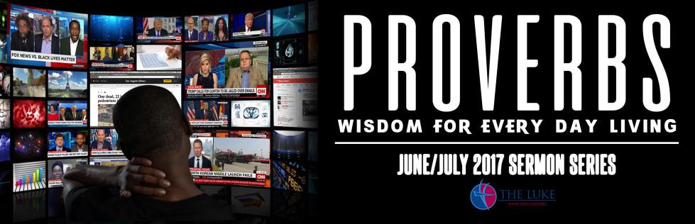 Proverbs – Sermon Series
